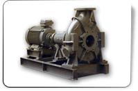 Horizontal non-clog pumps