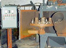 Swing Table Type Shot Blasting Machine