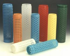 Perforated Dye Tubes