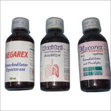 Megarex, Maxidryl & Mucorex