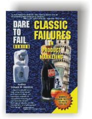 Books, Dare To Fail Classic Failures