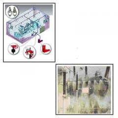 High Velocity Water Spray System