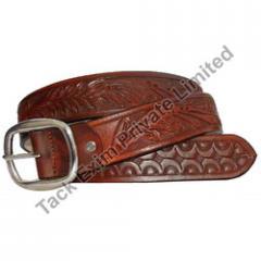 Dark brown Italian belts