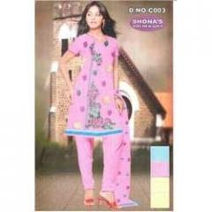 Embroidered Salwar Suits Fabrics