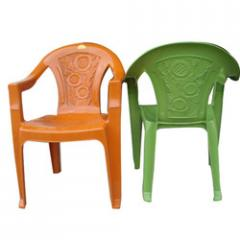 Plastic Medium Back Chairs