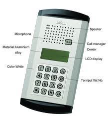 Digital Door intercommunication system