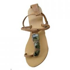 Stone Studded Sandals