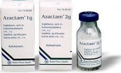 Antimmicrobal medicine, Azactam