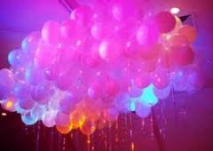 Blinking balloons