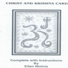 Christ and Krishna Card