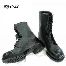 Pvc shoes leather