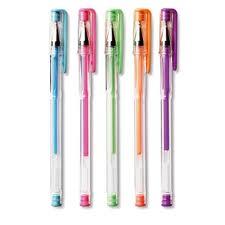 Coloured Gel Pens