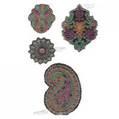 Decorative Embroidered Patches
