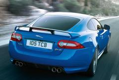 The Jaguar XF fuses sports car