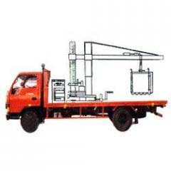 Mobile coal sampler