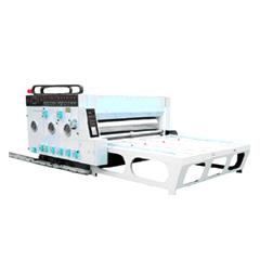 Double Color Semi-Auto Printer Slotter