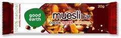 Good Earth Muesli Bar (Cocoa. Dates. Almonds)