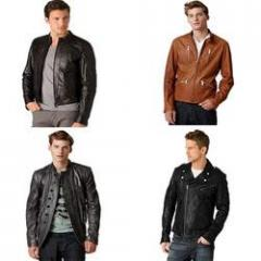 Leather Jackets for Men's