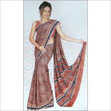 Polyester Printed Sarees