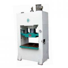 Hydraulic molding press