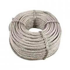 Bare copper wire ropes