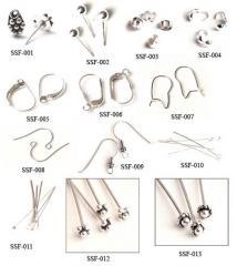 Silver Jewelry Findings
