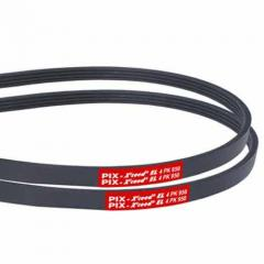 EL: Elasticised Ribbed / Poly V-Belts
