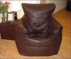 Leather Bean Chair
