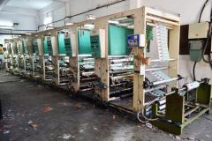 8 Colour Rotogravure Printing Press