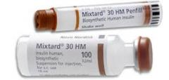 Human Insulin, Mixtard