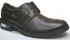 Derby Leather Shoes 01
