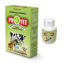 Provet brand animal & poultry feed