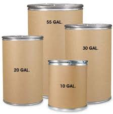 Cylindrical Round Fiber Drums.