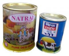 Ghee Tin Containers
