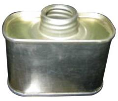 Brake Fluid Tin Can
