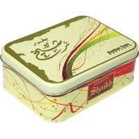 Rectangular Tin Cans - ZT MISC 0011