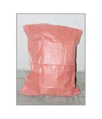 Red Woven Sack Bag