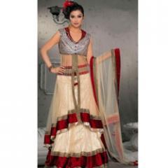 Party Wear Silk Dress Material