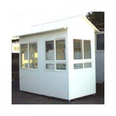 Security Cabins - 8' x 12' UPVC Cabins