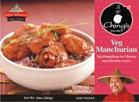 Indian food Veg Manchurian