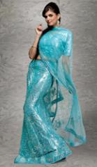 Net Shimmer Dress Materials