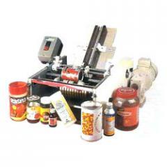 Semi Automatic Glue Labelling Machine