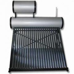 Glass tube solar water heater