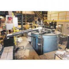Crucible Dosing Furnace For Aluminium