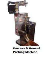 Powders & Granule Packing Machines