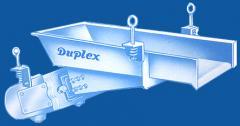 Duplex vibrating feeder