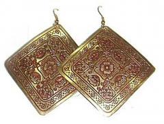 Color Metal Earrings