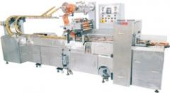 Automatic Biscuit Wrapping Machine On Edge