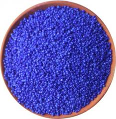 Blue Opaque Seed Beads