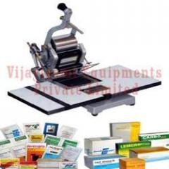 Manual Operated Batch Printing Machine